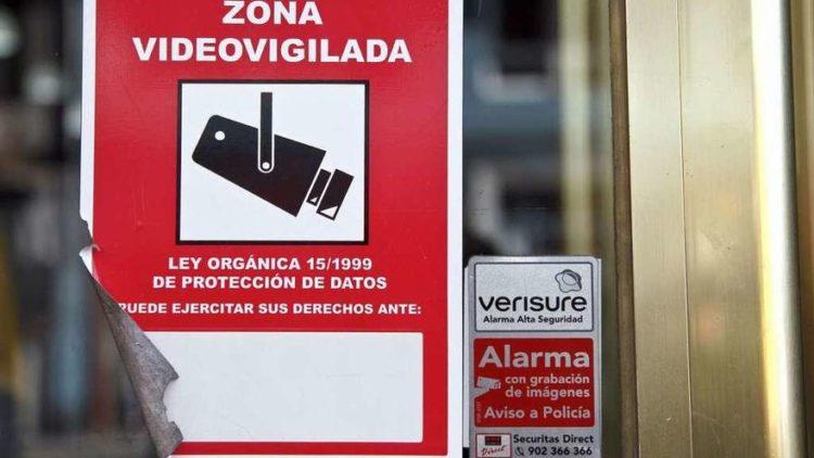 La videovigilancia, el motivo de sanción más frecuente de la Agencia de Protección de Datos en 2020